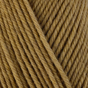Kohlrabi 33117, a khaki colored skein of washable worsted weight Ultra Wool yarn.