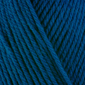 Lake 3364, a watery blue skein of washable worsted weight Ultra Wool yarn.