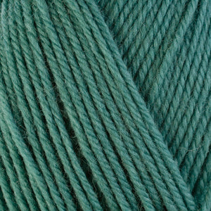 Sage 3324, a light blue-green skein of washable worsted weight Ultra Wool yarn.