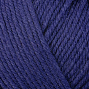 Ultra Violet 3345, a purple skein of washable worsted weight Ultra Wool yarn.