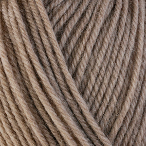Wheat 33103, a light tan skein of washable worsted weight Ultra Wool yarn.