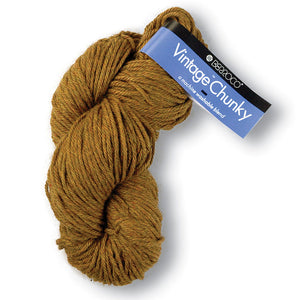 A cozy high-yardage skein of Berroco's Vintage Chunky weight yarn.