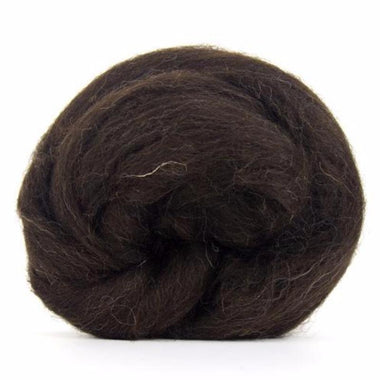 Paradise Fibers Black Welsh Mountain Top