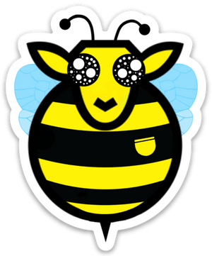 Paradise Fibers Sheep Stickers-Stickers-Bumblewe-
