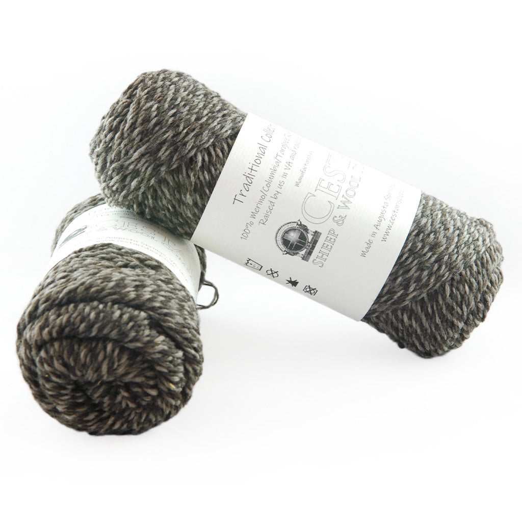 Cestari Green Navy Tweed Traditional Collection 100/% Wool 2 ply Worsted Weight 170 yards Pull Skein Made in the USA