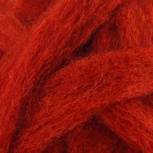 Carded Corriedale Sliver - Begonia-Fiber-Paradise Fibers