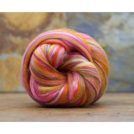 Paradise Fibers Constellation Range - Multi Color Merino/Silk Combed Top-Fiber-Paradise Fibers-Libra-4oz-Paradise Fibers
