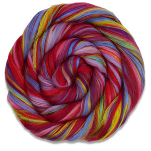 Cryptic Corriedale - Sister Scarlet-Fiber-4 oz-