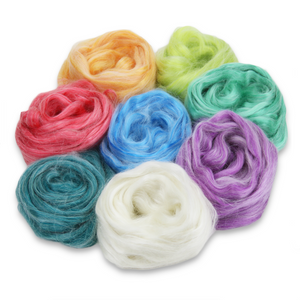 Paradise Fibers Frosted Halo Collection - Mohair and Silk Fiber Blends-Fiber-Buttercream-2oz-