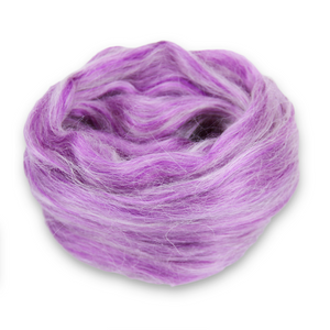 Paradise Fibers Frosted Halo Collection - Mohair and Silk Fiber Blends-Fiber-Boysenberry-2oz-