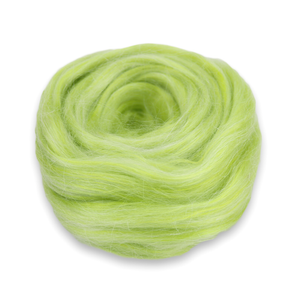 Paradise Fibers Frosted Halo Collection - Mohair and Silk Fiber Blends-Fiber-Key Lime-2oz-