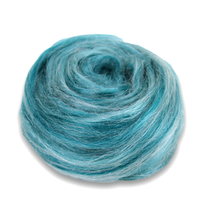 Paradise Fibers Frosted Halo Collection - Mohair and Silk Fiber Blends-Fiber-Mallard Macaron-2oz-