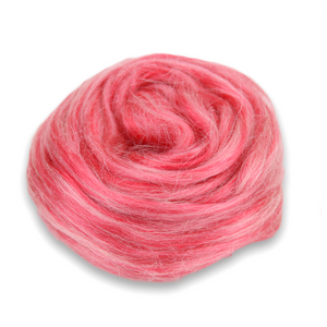 Paradise Fibers Frosted Halo Collection - Mohair and Silk Fiber Blends-Fiber-Red Velvet-2oz-