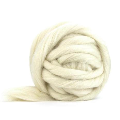 Soft Undyed Corriedale Jumbo Yarn- 7lb Special for Arm Knitted Blankets-Fiber-Paradise Fibers