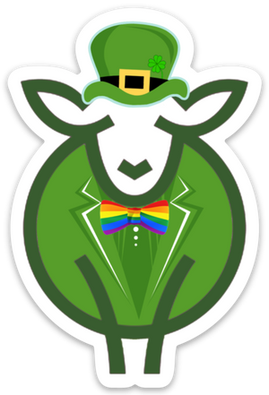 Paradise Fibers Sheep Stickers-Stickers-Mr. Rainbow Pots-
