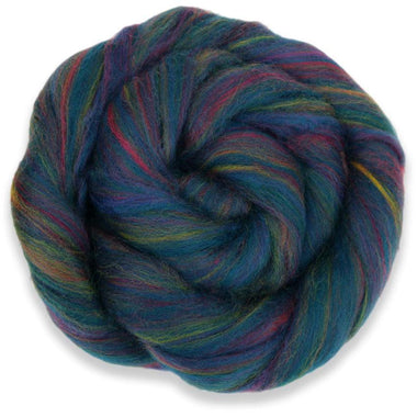 Paradise Fibers Multi-Colored Merino Wool Roving - Borealis-Fiber-Paradise Fibers