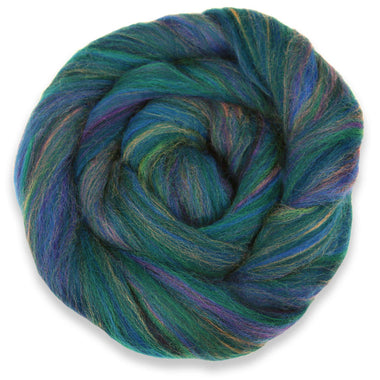 Paradise Fibers Multi-Colored Merino Wool Roving - English Garden-Fiber-Paradise Fibers