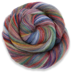 Paradise Fibers Multi-Colored Merino Wool Roving - Granada-Fiber-Paradise Fibers