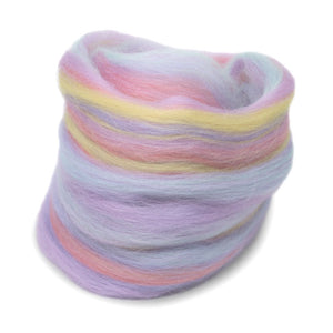 Paradise Fibers Multi Color Merino Wool Top - Unicorn-Fiber-Paradise Fibers