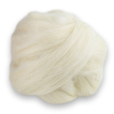 Paradise Fibers Blue Faced Leicester/Tussah Silk Roving - 75/25-Fiber-Paradise Fibers