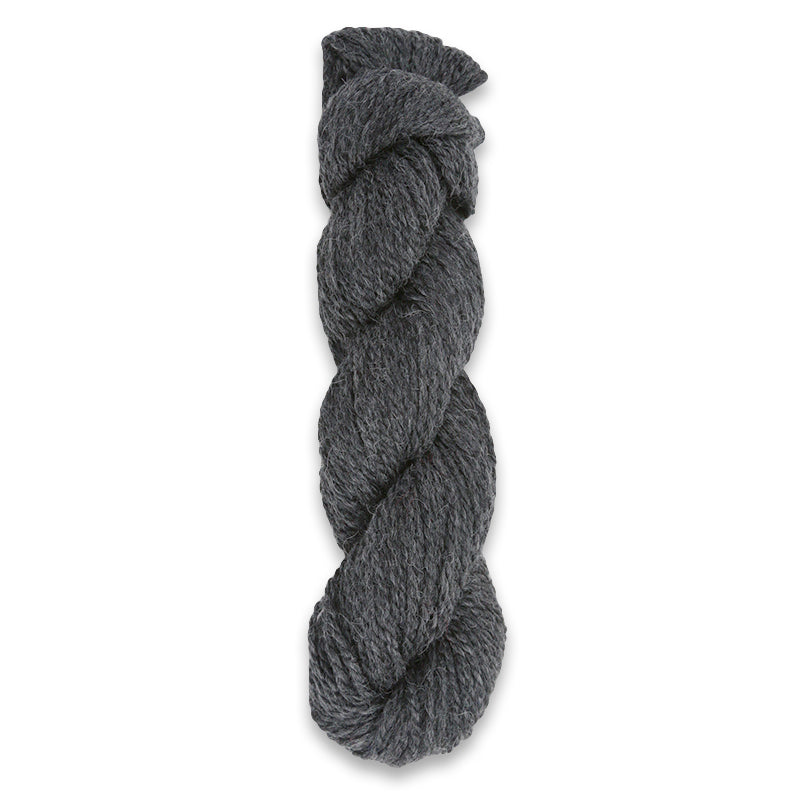 Plymouth Peru Baby Alpaca Worsted Yarn - Dark Grey Heather-Yarn-Paradise Fibers