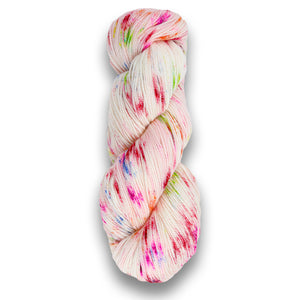 Plymouth Happy Feet 100 Splash Hand-Dyed Yarn - Lipstick-Yarn-