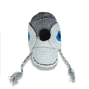 Plymouth Yarnimal Monkey Hat - Dark Grey-Yarn-Paradise Fibers