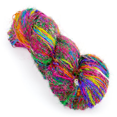 Recycled Sari Silk Yarn