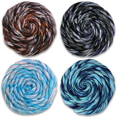 Song of Wool and Silk Fiber Club Bundle-Fiber-Paradise Fibers