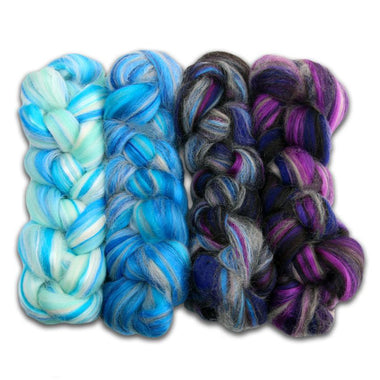 Paradise Fibers Luxe Winter Gradient Fiber Kit-Fiber-Paradise Fibers