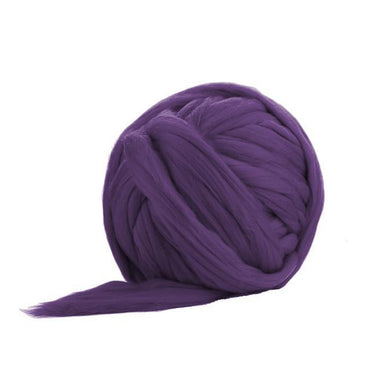 Soft Dyed (Heather) Merino Jumbo Yarn - 7lb Special for Arm Knitted Blankets-Fiber-Paradise Fibers