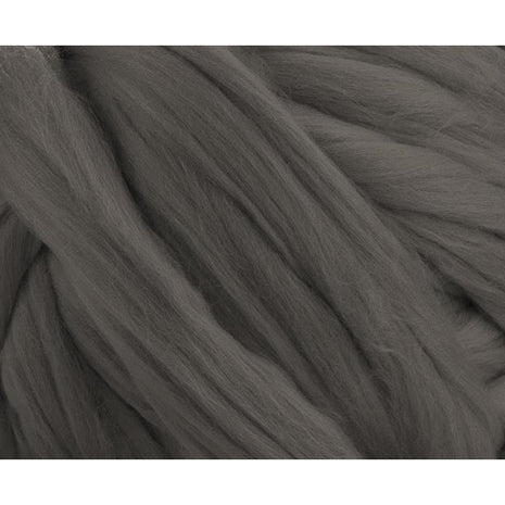 Soft Dyed (Pewter) Merino Jumbo Yarn - 7lb Special for Arm Knitted Blankets