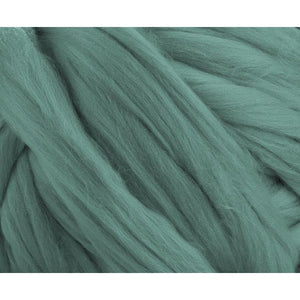 Soft Dyed (Teal) Merino Jumbo Yarn - 7lb Special for Arm Knitted Blankets-Fiber-
