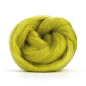 Paradise Fibers Solid Colored Corriedale - Laburnum-Fiber-4oz-