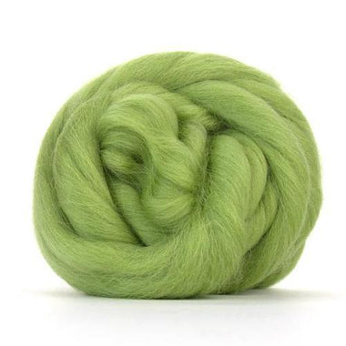 Paradise Fibers Solid Colored Corriedale - Sage