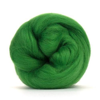 Paradise Fibers Solid Colored Corriedale - Grass