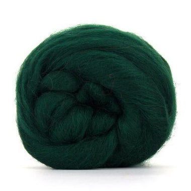 Paradise Fibers Solid Colored Corriedale - Conifer