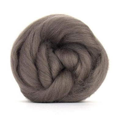 Paradise Fibers Solid Colored Corriedale - Pewter