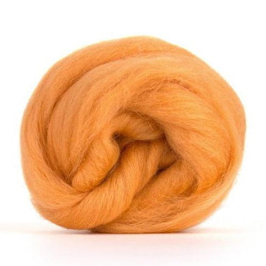 Paradise Fibers Solid Colored Corriedale - Peach