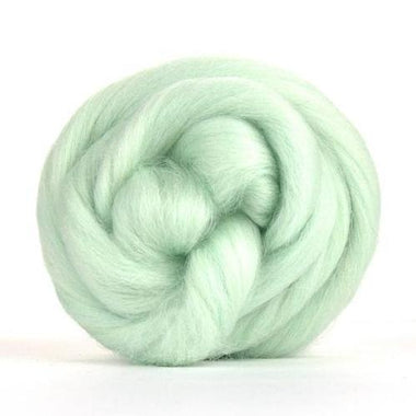 Paradise Fibers Solid Colored Corriedale - Peppermint