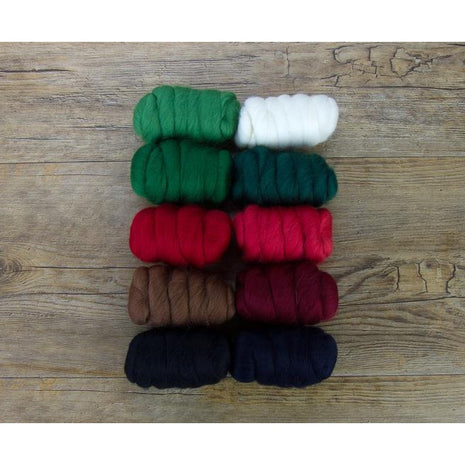 Paradise Fibers Mixed Merino Wool Bag - Christmas Cracker - 2