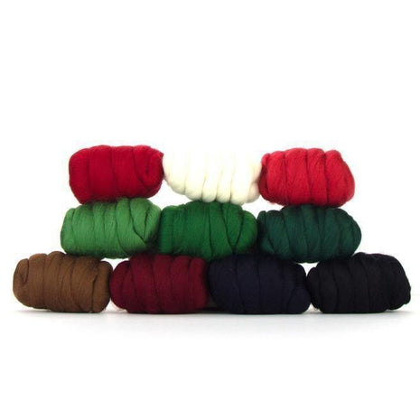 Paradise Fibers Mixed Merino Wool Bag - Christmas Cracker - 1