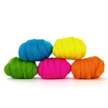Paradise Fibers Mixed Merino Wool Bag - Funky - 1