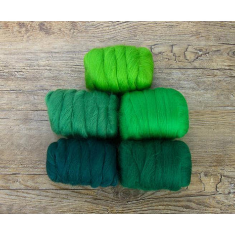 Paradise Fibers Mixed Merino Wool Bag - Grand Green - 2