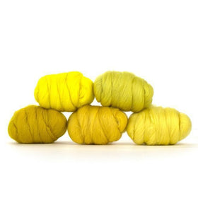 Paradise Fibers Mixed Merino Wool Bag - Yummy Yellow - 1