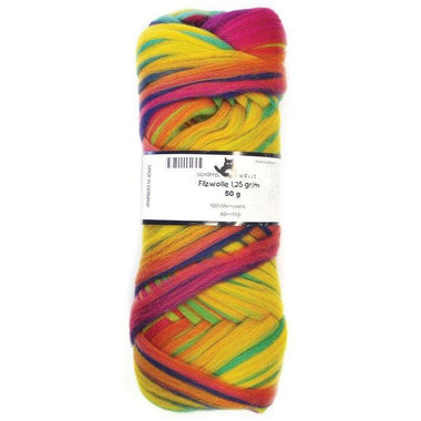 Artfelt Multi Colored Merino Pencil Rovings Party Time 1505 - 1