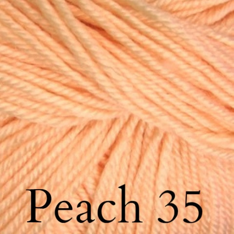 Ella Rae Cozy Soft Solids Yarn Peach 35 - 27