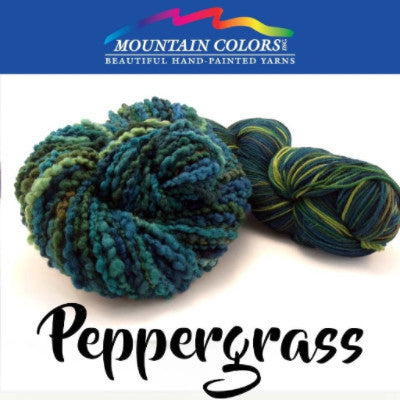 Mountain Colors Twizzlefoot Yarn Peppergrass - 60