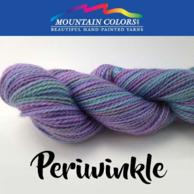 Mountain Colors Twizzlefoot Yarn Periwinkle - 61