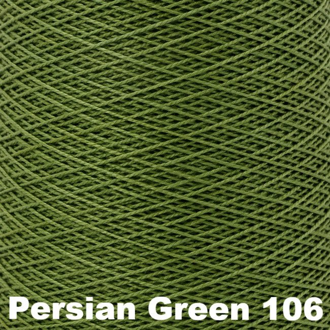5/2 Perle Cotton 1lb Cones Persian Green 106 - 64